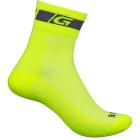 GripGrab Hi-Vis Regular Cut Socks fluo yellow